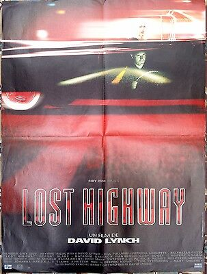 1997 LOST HIGHWAY David Lynch Patricia Arquette Pullman French 24x32 film poster