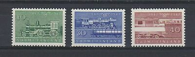 A4661) FINLAND 1962 Railway Trains Treni  MNH**