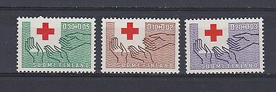 A4662) FINLAND 1963 Red Cross 3v   MNH**