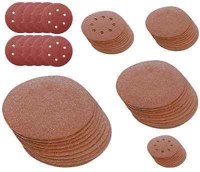 SANDING DISCS 90 100 115 125 140 150 180 250 300mm triangle velcro fibre hook