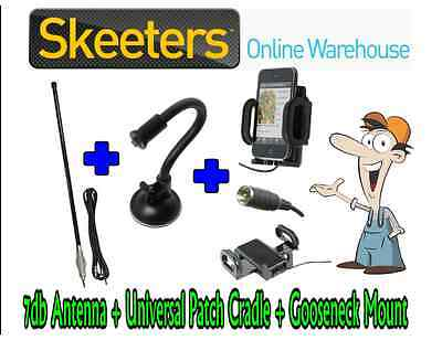7db Mobile Phone Antenna, Booster Cradle + Suction Mount - iPhone Galaxy Android