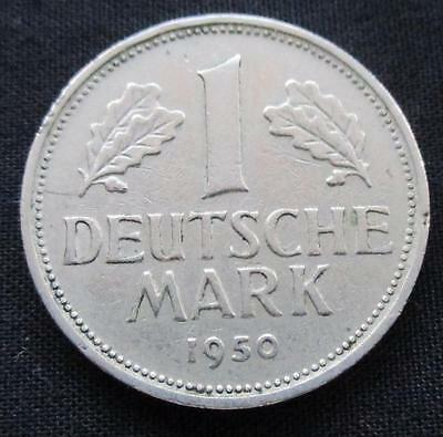 1 Deutsche Mark Germany 1950 #1187