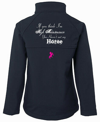 ***hdc***beautiful Soft Shell Jacket*** Met My Horse.. All Sizes Rrp$150