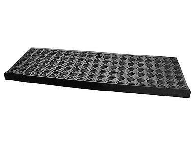 Anti Non Slip Rubber Stair Tread Treads Step Covers Mats Weather Resistant 25X75