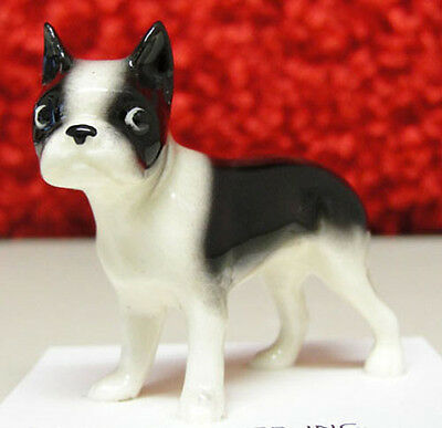 ➸ HAGEN RENAKER Dog Miniature Figurine Boston Terrier