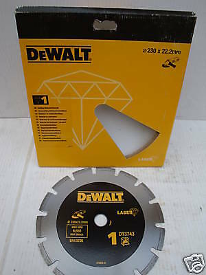 DeWALT DT3701 115MM X 22.2MM Diamond Wheel Cutting Disc Blade x 2