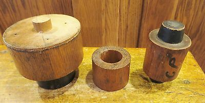 Vintage Industrial Foundry Mold Patterns 3 Handcrafted Oliver Plow Co.