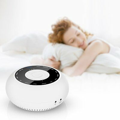15 Sound Therapy Sleep Machine White Noise Soother Nature Relaxing Background