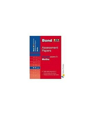 Bond Second Papers in Maths 8-9 years: Years 8-9 ... by Baines, Andrew Paperback