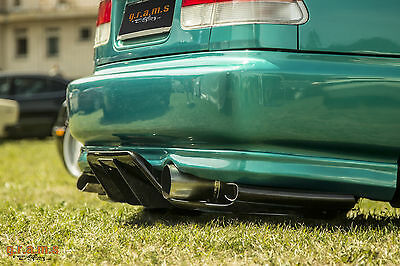 Honda Civic Top Secret / Shine Style Diffuser / Undertray Racing Performance v4