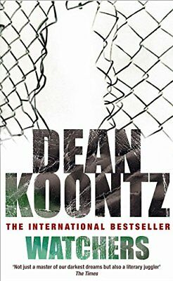 WATCHERS by Dean Koontz Book The Cheap Fast Free Post