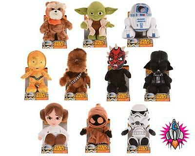 """Official Disney Star Wars 10"""" Plush Soft Toy Character Toys New In Box"""