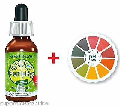 (Combo Pack) AlkalineCare - PURIPHY + 5M pH Paper Roll Litmus Test Paper Strip