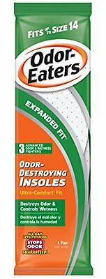 Odor-Eaters Odor Destroying Ultra Comfort Insoles 1 Pair Each