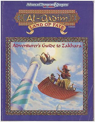 Ad&d 2nd Ed. Al-Qadim Land of Fate Fortunes & Fates, Adventurer's Guide + 2 Maps