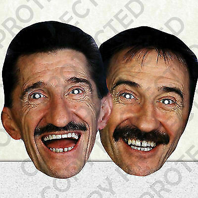 CHUCKLEVISION CELEBRITY FACE PARTY MASKS MASK STAG HEN CHUCKLE BROTHERS #MP5 m