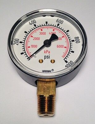 "Wika Commercial Gauge 2.5"" 1000-PSI 1/4""-NPT 8990659 (NEW) (12D2)"