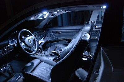 WHITE Interior LED Lights Combo Kit for 12 13 14 Maserati GranTurismo MC