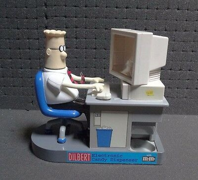 Dilbert Electronic Candy Dispenser with M&M's