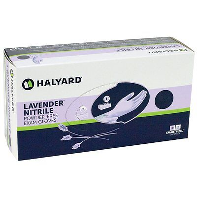 LAVENDER NITRILE Exam Gloves, Powder Free (Halyard/Kimberly)