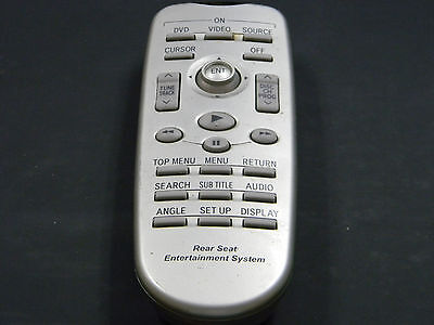 Toyota Sienna REAR DVD Entertainment Remote Control REAR SEAT OEM 86170-45010