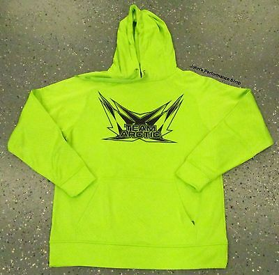 2017 Mens Team Arctic Cat Lime Green Sweatshirt Hoodie L 2X 5279-074 5279-078