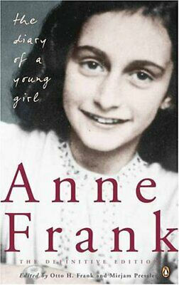 The Diary Of A Young Girl: The Definitive Edition by Anne Frank Paperback Book