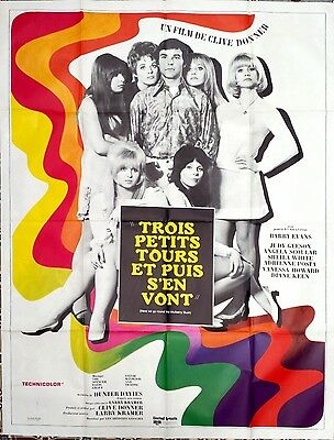 1968 HERE WE GO ROUND THE MULBERRY BUSH Judy Geeson French 47x63 film poster