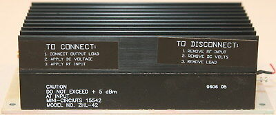 Mini-Circuits ZHL-42 High Power Amplifier 700-4200 MHz - Works Great!