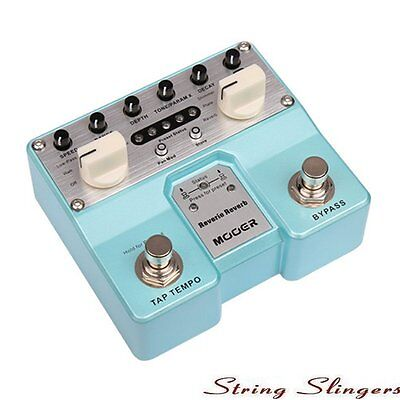 Mooer Twin Compact Reverie Reverb Digital Effects Pedal, MTWINRV2