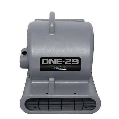 BlueDri® ONE-29 Air Mover Carpet Dryer Blower Floor Fan High CFM Low Amps GREY