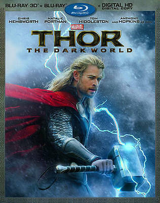 Thor: The Dark World (2014)--3D Blu-ray Disc Only***PLEASE READ FULL LISTING***