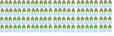 (100-Pack) Reusable Baby Food Pouch great for snacks and Drinks BPA FREE