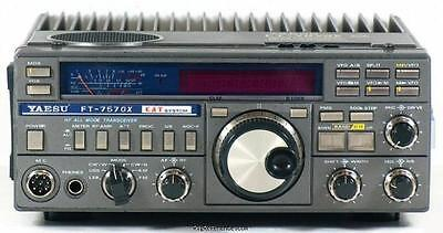 Yaesu Ft-757Gx 757 Gx Gxii Hf Vhf Uhf Transceiver Radio Service Repair Manual