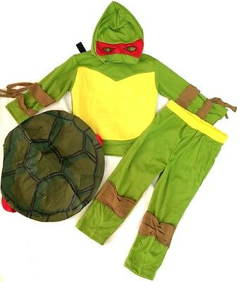 NEW Sz 2~10 COSTUME NINJA TURTLE TMNT BIRTHDAY PARTY DRESS UP MASK KIDS BOY TOYS