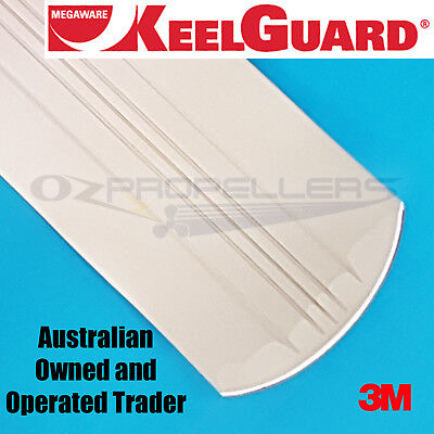 Keel Guard 8 Feet White Keel Protector Megaware (Boat Length- Up to 22 Feet)