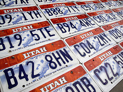 UTAH License Plate - Skier - Greatest Snow On Earth - Life Elevated