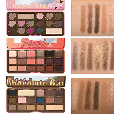 Too Faced Chocolate Bar & BON BONS & Semi Sweet Eyeshadow Collection Palette