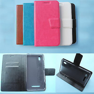 For Optus Prepaid Smartphone-Wallet Folder Flip Folio PU Leather Case cover 4G
