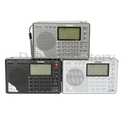 TECSUN PL380 Portable DSP/ PLL/ FM/ MW/ SW/ LW Digital Radio World Band Receiver
