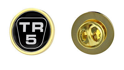 Triumph TR5 Logo Clutch Pin Badge Choice of Gold/Silver