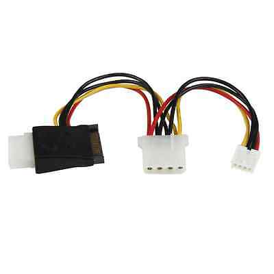Startech LP4 to SATA Power Cable Adapter with Floppy Power