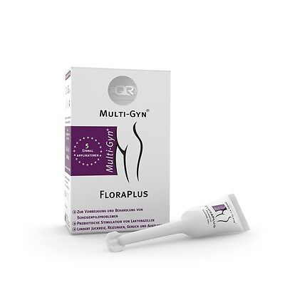 (67,56 €/100ml) Multi-Gyn Floraplus Gel (5x5ml)