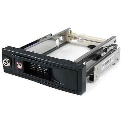 Startech 5.25in Trayless Hot Swap Mobile Rack for 3.5in Hard Drive