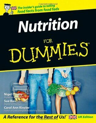 Nutrition For Dummies by Carol Ann Rinzler Paperback Book The Cheap Fast Free