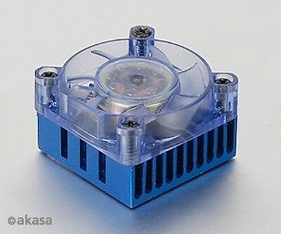 Akasa AK-210 Chipset Cooler with 4cm Blue LED Fan
