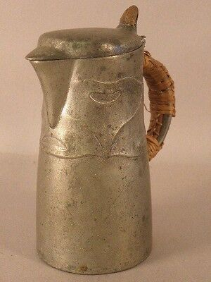 Rare Liberty & Co  Pewter Face Jug  Archibald Knox