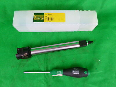 """Walter Tools B2075-400081R 1.437"""" Indexable End Mill"""