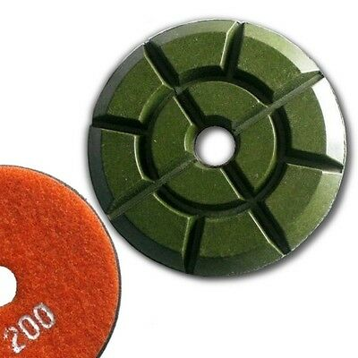 "4"" (100mm) Grit 200, Floor Polishing Pad, Wet Use for Cement"