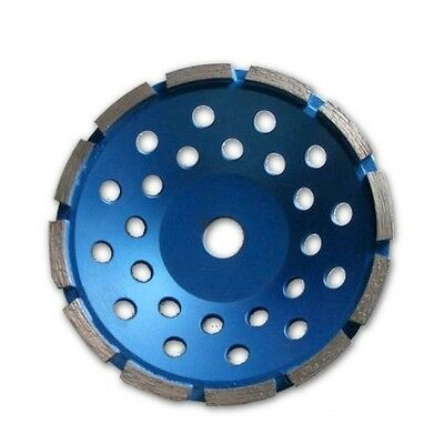 7 inch Single Row Grinding Cup Wheel, NO-Thread, For Concrete,Diamond Grit 30~40